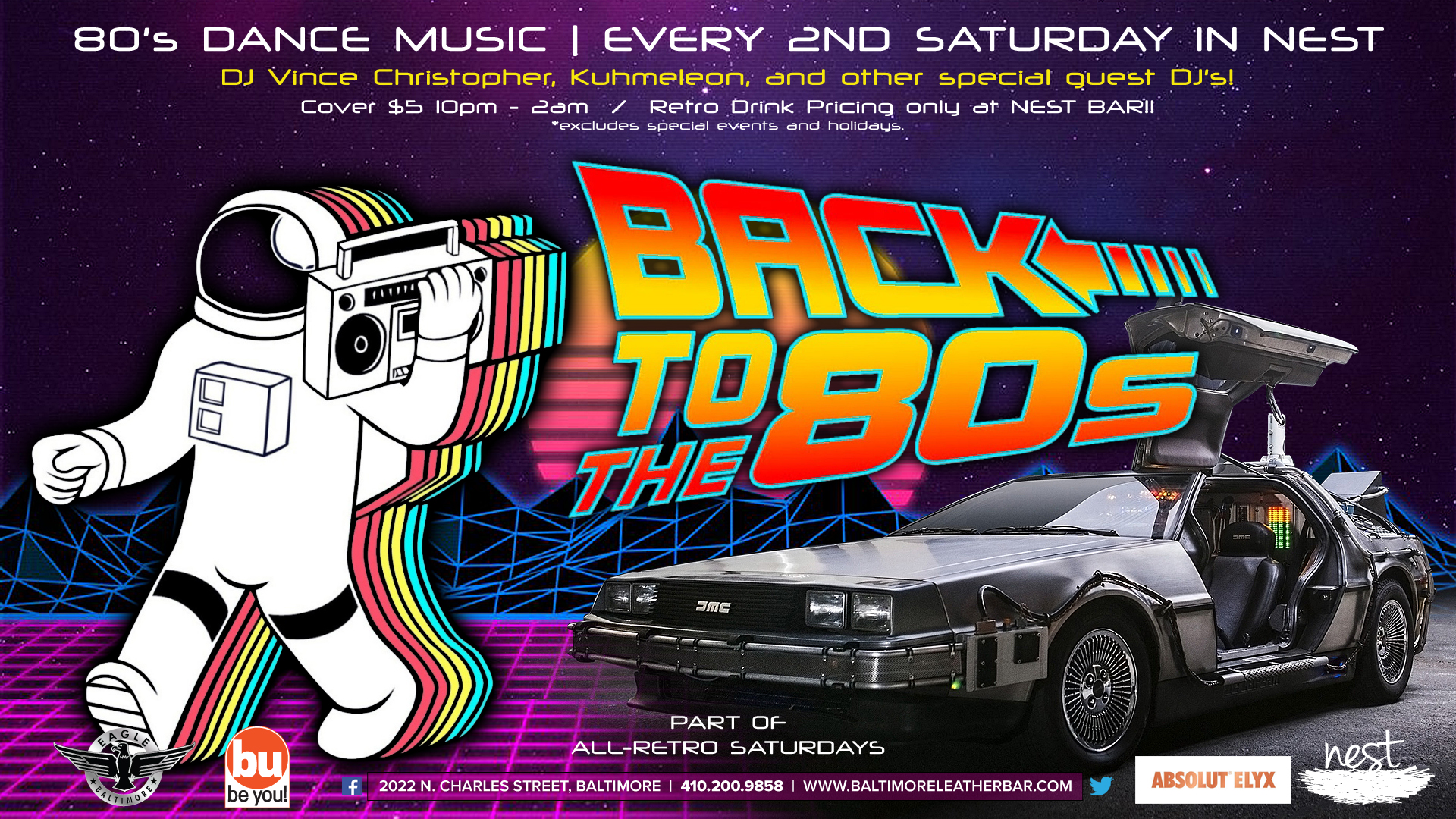 Back To The 80s Dance Party